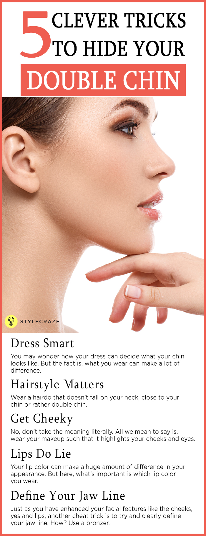 makeup tips for round face and double chin - mugeek vidalondon