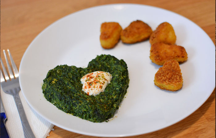 Chicken Nuggets Recipes - Flaxseed Spinach Chicken Nuggets