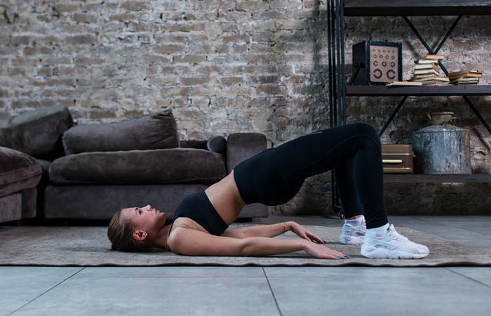 Hip Flexor Stretches - Bridge