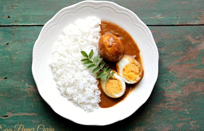 Egg Curry Recipes - Chettinad Egg Curry