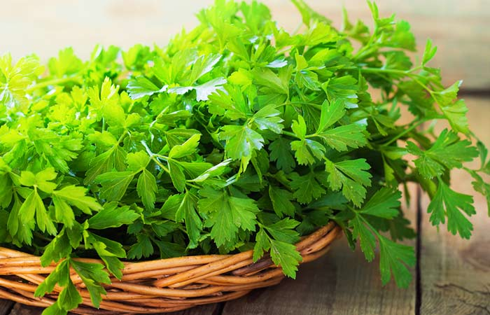 6. Parsley