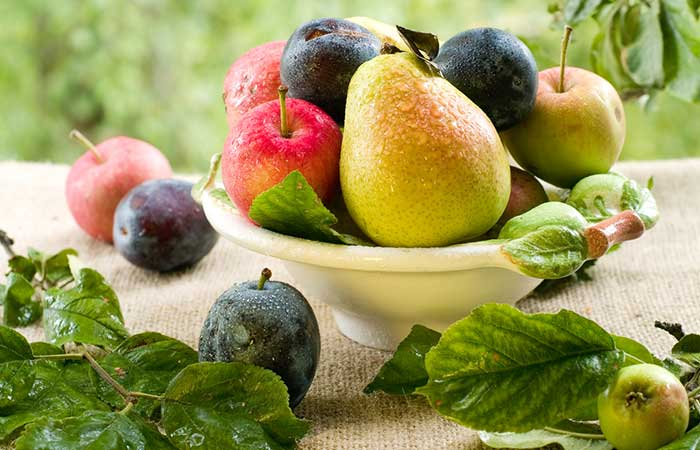 7. Pears, Plums, And Apples