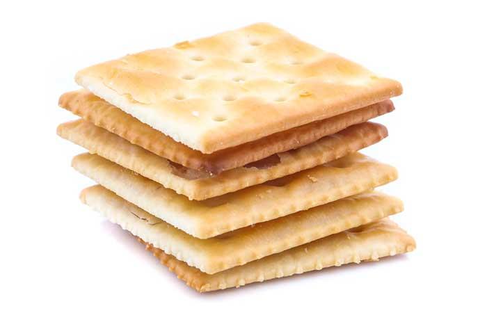 8. Crackers
