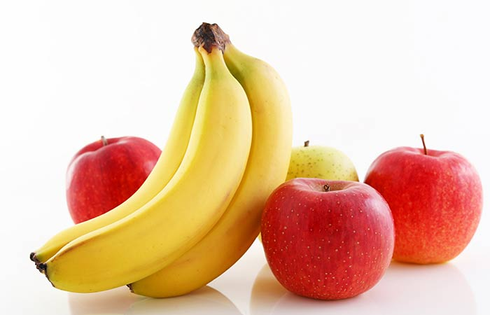 9.-Banana-Apple-Papaya-For-Stomach-Burning