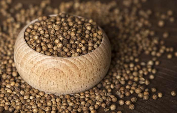9. Coriander Seeds