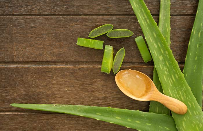 Get Rid Of Neck Fat - Aloe Vera