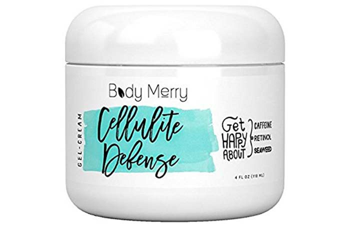 Anti-Cellulite Creams - Body Merry Cellulite Defense Cream