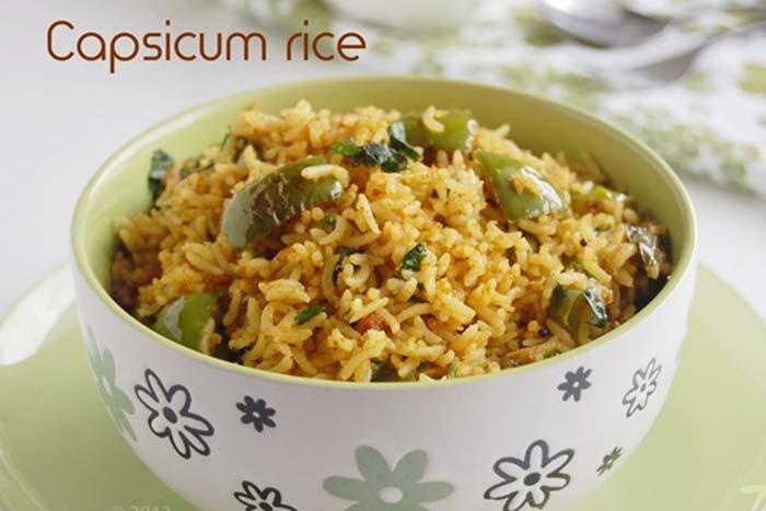 Capsicum-rice