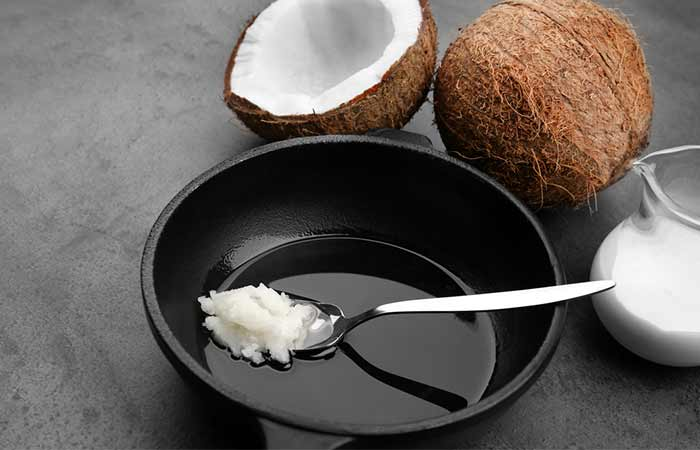 Get Rid Of Neck Fat - Coconut Oil