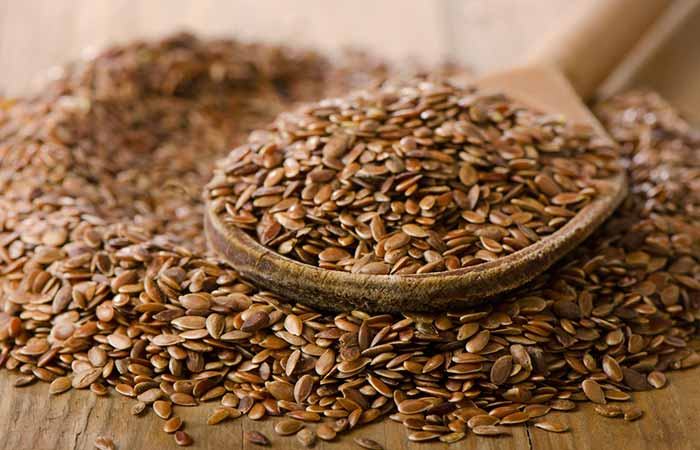 Get Rid Of Neck Fat - Flaxseeds