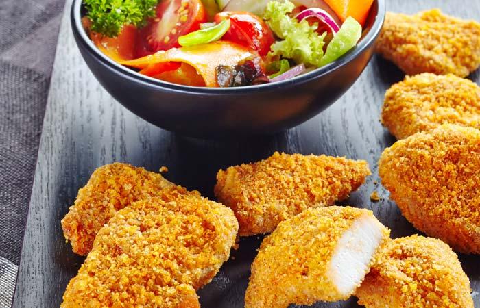 Chicken Nuggets Recipes - Garlic Chicken Nuggets
