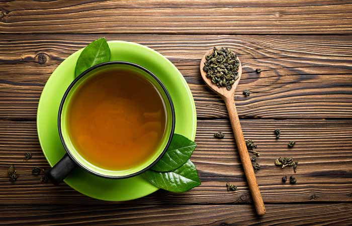 Get Rid Of Neck Fat - Green Tea