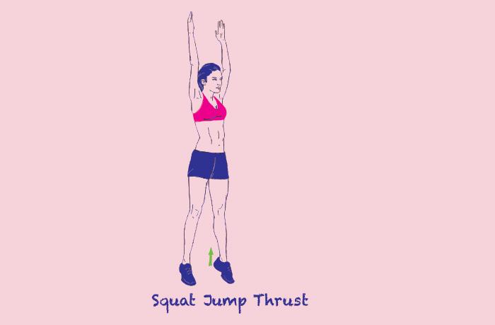 Jumping Jack Squats