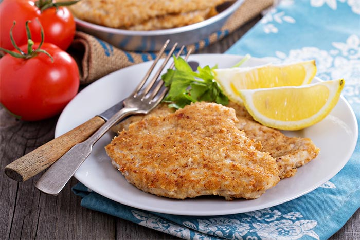 Chicken Nuggets Recipes - Pan-Fried Lemon Chicken Nuggets