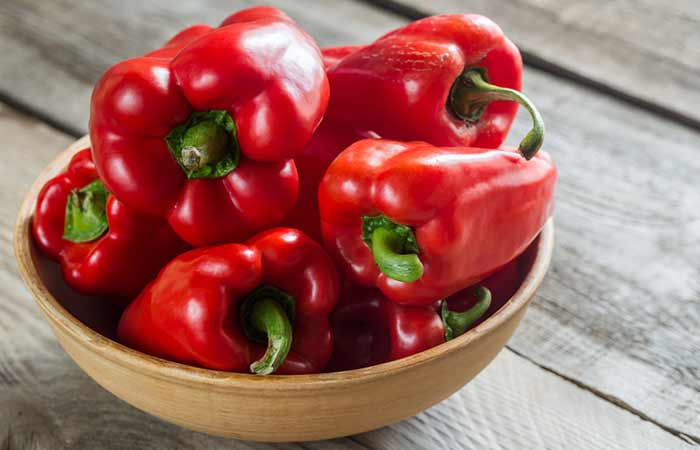 Get Rid Of Neck Fat - Red Bell Peppers