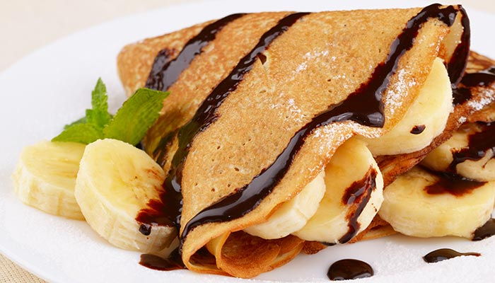 5 must try sanjeev kapoor recipes for kids 5 carmelized banana crepes forumfinder Choice Image