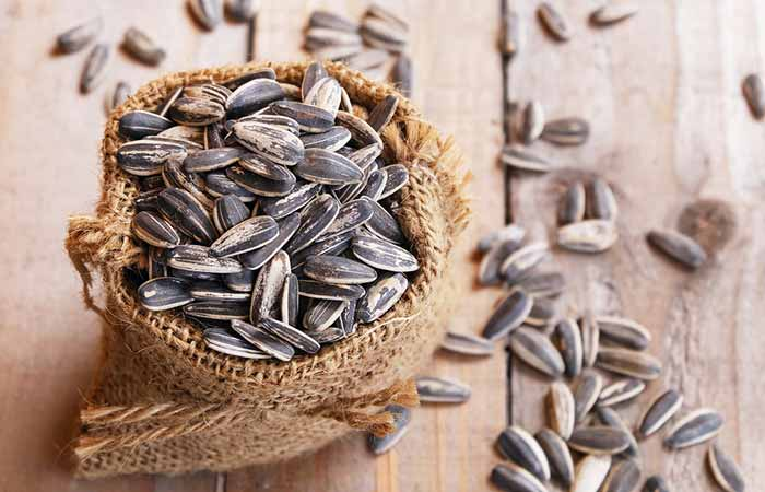 Get Rid Of Neck Fat - Sunflower Seeds