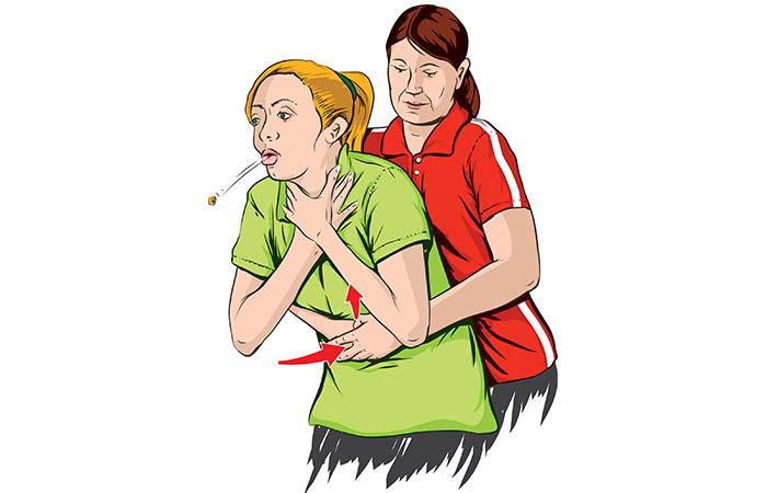 Cosa devo fare se qualcun altro sta soffocando