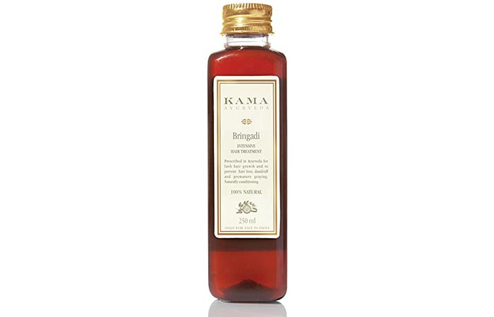 1. Kama Ayurveda Bringadi Intensive Hair Treatment Oil