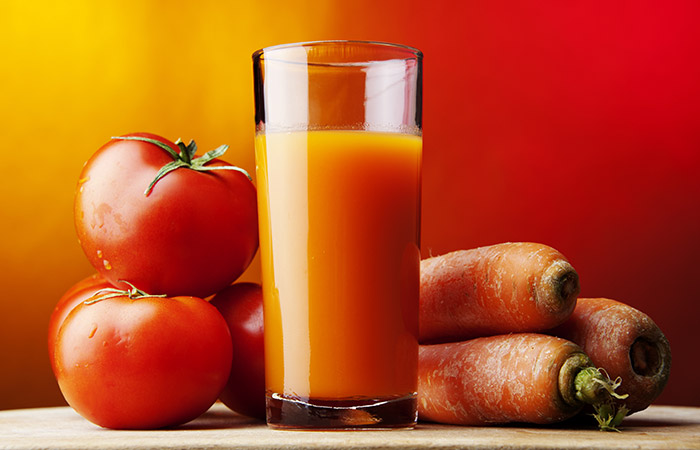 Tomatoes For Weight Loss - Recipes - Tomato, Carrot & Grapefruit Smoothie