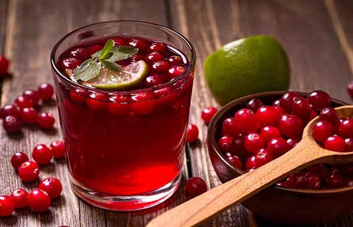 14. Cranberry Juice