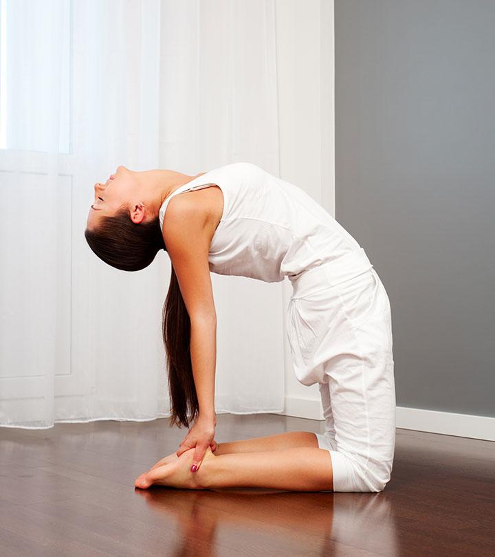 7 Yoga Poses To Do Post Dinner For A Good Night's Sleep