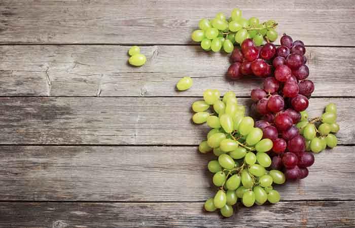 17. Grapes