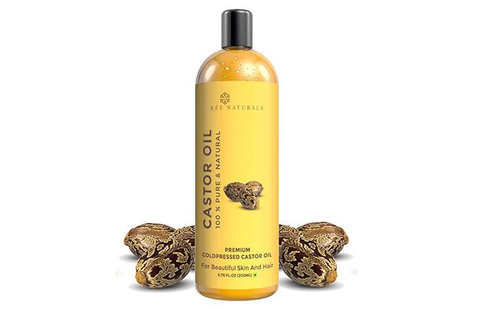2. Rey Naturals Castor Oil
