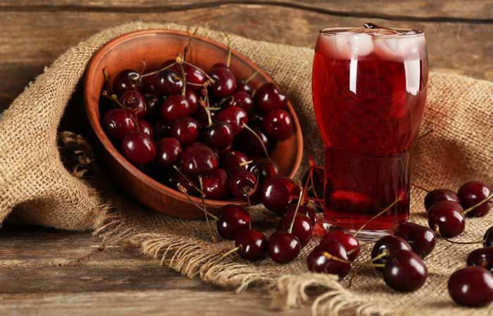 2. Cherry Juice