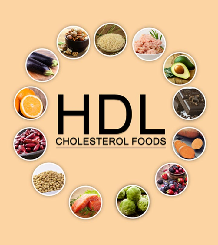 25 HDL Cholesterol Foods To Include In Your Diet