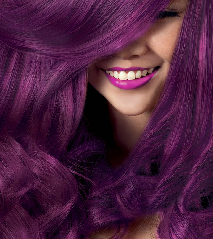Best Purple Hair Colors Available In India