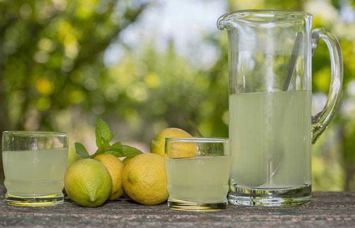 3. Lemon Juice