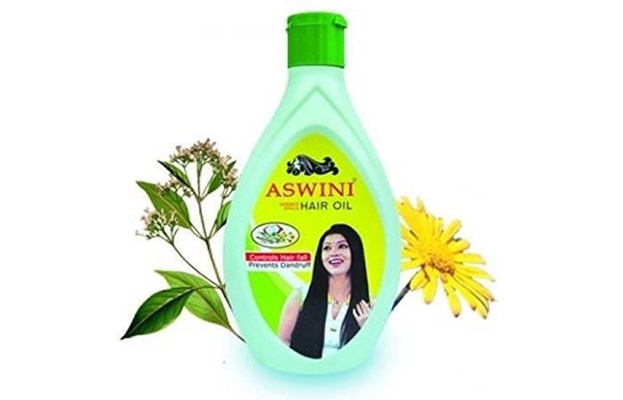 4. Aswini Arnica Hair Oil