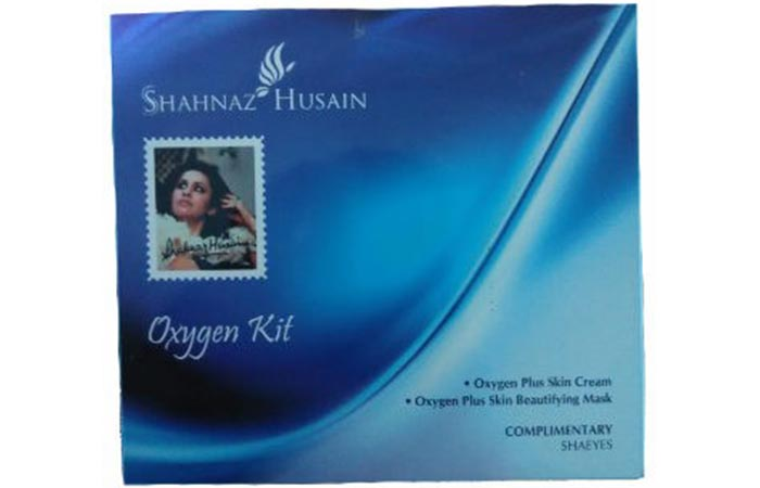 Benefits Of Oxygen Facial - Shahnaz Husain Oxygen Facial Kit