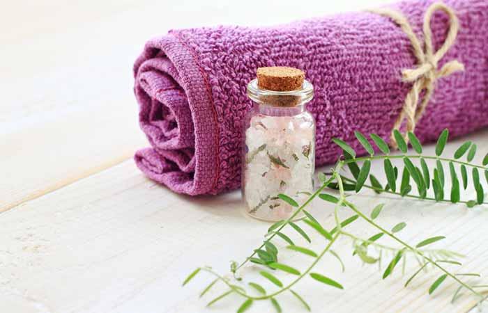 Home Remedies For Cellulitis - Epsom Salt Bath