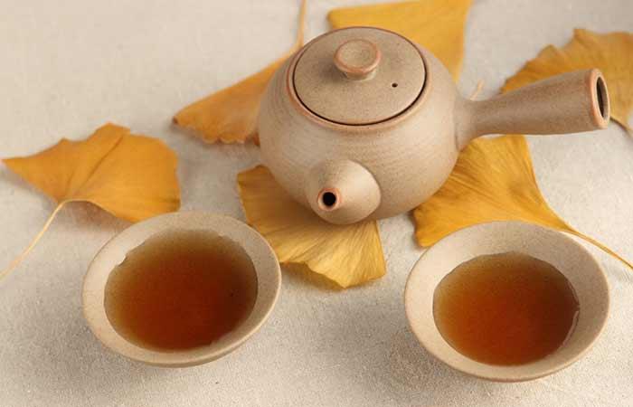 5. Ginkgo Biloba Herbal Tea