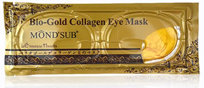 6. Mond'Sub Bio-Gold Collagen Eye Mask