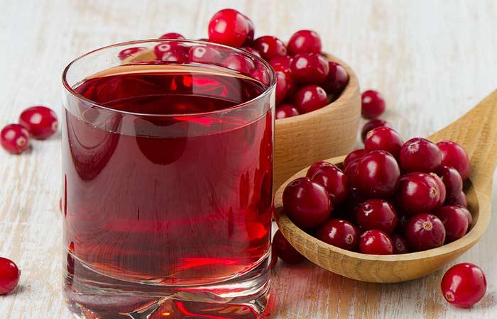 7. Cranberry Juice