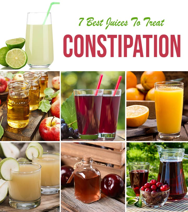 7 Best Juices For Constipation – Home-made Recipes, Dosage, And Benefits