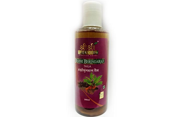 7. Sri Sri Ayurveda Anti-Graying Hair Oil