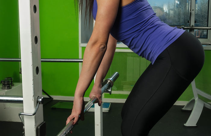 8. Bent Over Barbell Row