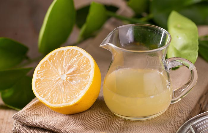 8. Lemon Juice To Remove Hair Dye From Skin