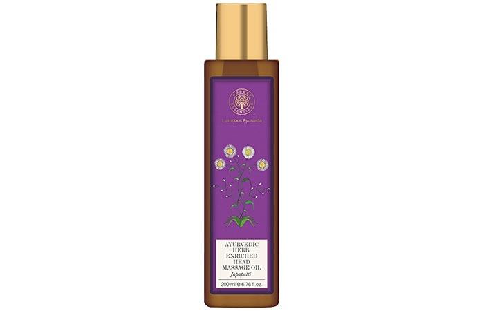 9. Forest Essentials Japapatti Hair Oil