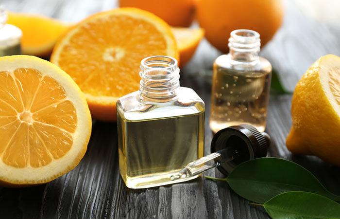 Get Rid Of White Spots On Fingernails - Orange Oil
