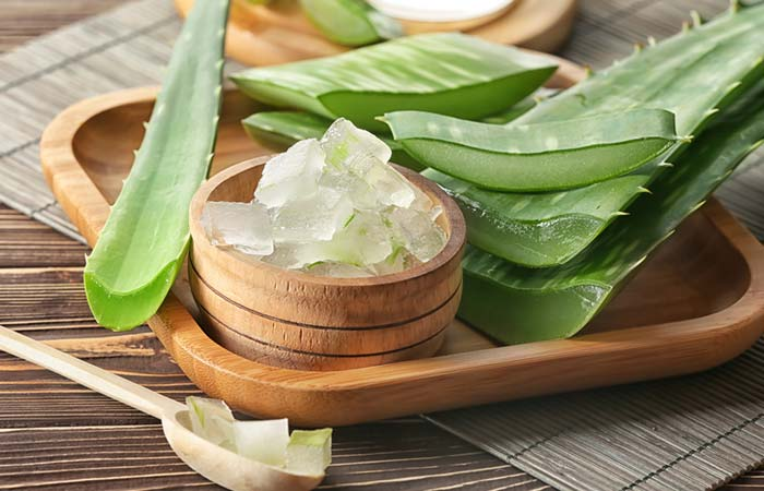 Aloe Vera - Home Remedies To Get Soft Hands