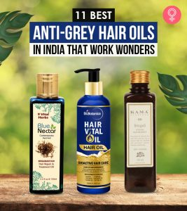 11 Best Anti-Grey Hair Oils In India That Work Wonders