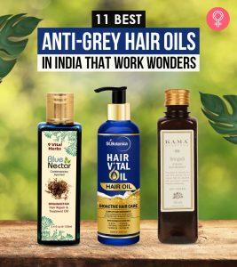 11 Best Anti-Grey Hair Oils In India That Work Wonders