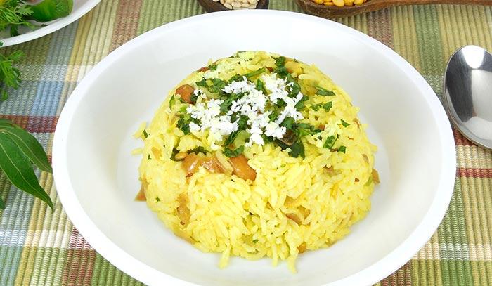 Chitranna Or Lemon Rice