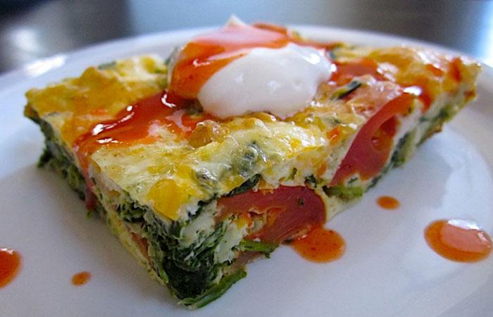 Egg Recipes - Eggy Veggie Bake