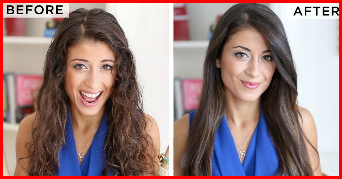 How to straighten your hair naturally with milk urmus Image collections